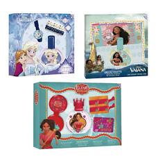 Cadeau noel trois coffrets parfum enfant Disney Vaiana + Frozen + Elena Avalor