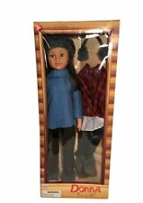 Donna Two of Us 32 Inch Doll with Two Winter Outfits Brunette (Brunette)
