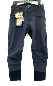 Endura Singletrack Trouser II Mens Medium Pants Black Bike Cycling NWT