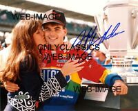 1994 JEFF GORDON INDY BRICKYARD BROOK KISS 8x10 PHOTO NASCAR STOCK CAR RACING