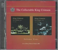The Collectable King Crimson  2  CD's  VOLUME FOUR  © 2009  /  NEUWERTIG