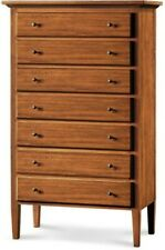 Chest of Drawers 7 Drawers, Color Walnut