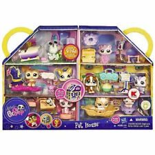 NEW LITTLEST PET SHOP RARE HTF 9 PACK #1655 - 1663 CAT PET HOUSE ACCESSORIES NIB