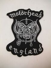 MOTORHEAD Iron On Patch Lemmy Speed Metal GOTH Deathrock Punk