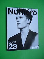 Numéro Homme 23 Printemps Etè fashion magazine Man Spring Summer 2012 Lagerfeld