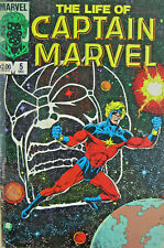 The Life of Captain Marvel #5 Comic 1985 Copper Age GD