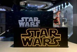 Hot Toys Star Wars Light Box Officially Licensed Collectible 16 inches New Sale