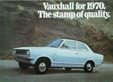 Vauxhall All models range  Sales Brochure - 1970 #
