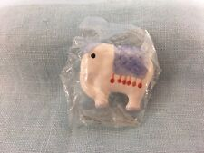 Vintage JHB Elephant Ceramic Button Handcrafted & Hand Painted 'New Old Stock'