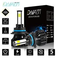 2020 4 côtés 200W 30000LM 9006 HB4 Auto LED Ampoule Voiture Lampe Kit Phare Feux