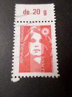 FRANCE 1993, timbre 2806, Marianne, BANDELETTE 20 g, oblitéré, VF STAMP