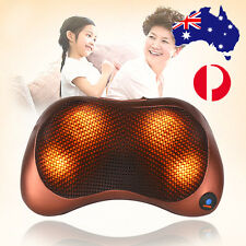 2017 Electric Body Massage Pillow Massager Cushion Neck Back Shoulder Home Car