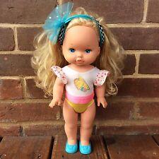 Vintage Triple Change Li'l Miss Make Up Doll Mattel 1988 Original Bodysuit Shoes
