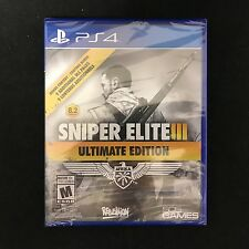Sniper Elite III -- Ultimate Edition (Sony PlayStation 4, 2015) BRAND NEW
