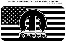 2015+ Dodge Charger / Challenger R/T SRT MOPAR Sunroof Vinyl Graphic Free Ship!