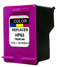 Remanufactured HP #63 F6U61AN Color Ink Cartridge