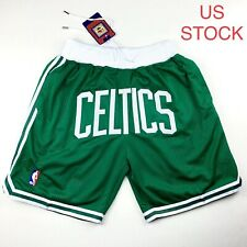 Boston Celtics Basketball Shorts Vintage NBA Mens Sizes S-2XL USA