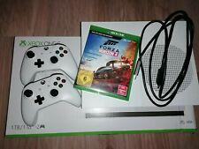 xbox one s in Weiß | 1TB mit 2 Controllern und Forza Horizon 4 Rennspiel