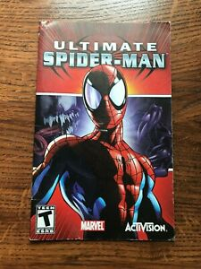 Ultimate Spider Man Spiderman PS2 Playstation 2 Instruction Manual Only