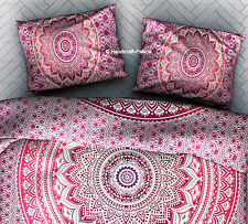 10 PCs Wholesale LOT Indian Ombre Mandala Pillow Cover Hippie Cushion Cover Sham