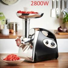 2800W Électrique hachoir à viande  aluminium saucisse Maker Filler Cuisine