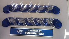 2 BUD LIGHT CAN & BOTTLE DISPLAY HOLDER SYSTEM ISEE APEX APX-5C-1001-BLUE- NEW