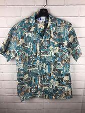 NWT RJC Hawaiian Style Shirt Size M Medium Aloha Surf Excellent New