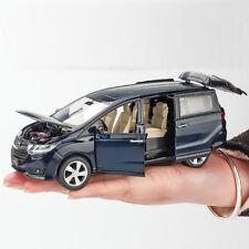 1:32 Honda Odyssey MPV Metal Diecast Model Car Toy Collection Sound&Light Blue