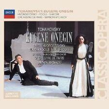 FOCILA/BORODINA/HVOROSTOVSKY/SHICOFF/BYCHKOV/OP/+ - EUGEN ONEGIN 2 CD NEU