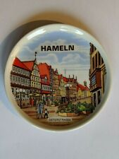 Vintage Souvenir MINI Plate Hameln Germany