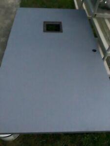 """COMMERCIAL FIRE GRADE STEEL DOOR 48"""" x 83"""" - W/VIEWING WINDOW"""