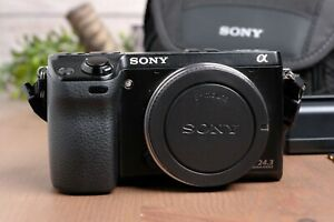 Sony Alpha NEX-7 24.3MP Mirrorless Digital Camera (Body Only) with Case