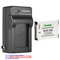 Kastar Battery Wall Charger for Samsung SLB-10A & Samsung WB1100F WB2100 Camera