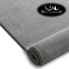 Hardwearing Soft Carpets 'DISCRETION' silver very thick Large Size Best-carpets