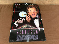 1988 Scrooged Original Movie House Full Sheet Poster