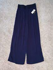 NWT New Women's I.N. Studio Blue Casual Pants Size Petite Medium PM