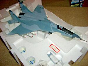B11B604 Armour Franklin Mint MIG 29 FULCRUM Luftwaffe JG 73 STEINHOFF LAAGE