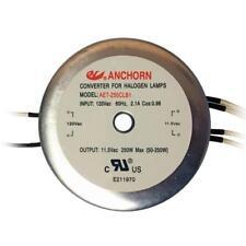 NEW Evrosvet Anchorn Electronic Halogen Low Voltage Round Transformer, 12V