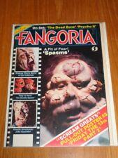 FANGORIA #28 SPASMS DEADLY SPAWN CARL FULLERTON HORROR US MAGAZINE =