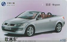 CHINA. COCHE - CAR- MEGANE, ZGWT-IP-ZJ-JT40(4-4). (108).