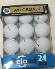 ReLoad Taylormade Golf Balls, Mint Quality, 24 Pack