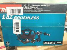 Makita XT268T 18V LXT Lithium_Ion Brushless Cordless 2_Pc. Combo Kit (5.0Ah)