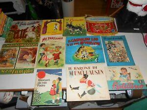 LIBRO:antichi LIBRI FAVOLE BAMBINI vintage anni 50 /60 /70