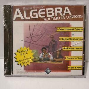 Personal Professor Algebra Multimedia Lessons DVD VTG Sealed