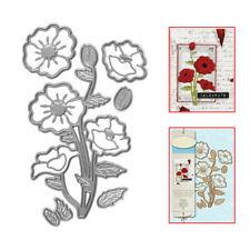 Remembrance Flower Metal Cutting Dies Stencil DIY Scrapbooking Card Paper Crafts