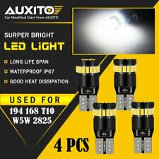 AUXITO 4X Super Bright 194 168 175 2825 T10 Car CANBUS 24SMD White LED Bulbs EOD