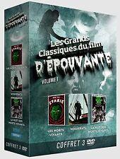3 DVD BOX SET The Classics of the horror film - vol 1 / IMPORT