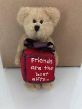 Boyds Bear Plush True Friend, Friends Are The Best Gifts