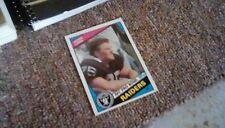 1984 Topps Howie Long Los Angeles Raiders #111 Football Card