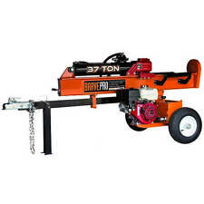 Brave Pro 37-Ton 270cc Honda-Powered Horizontal / Vertical Gas Log Splitter